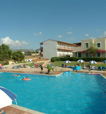Почивка в Гърция, о-в Крит - Ласити хотел Colindria Mare Hotel 3*