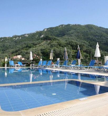 Почивка в Гърция, о-в Корфу хотел Alonakia Hotel 2*+