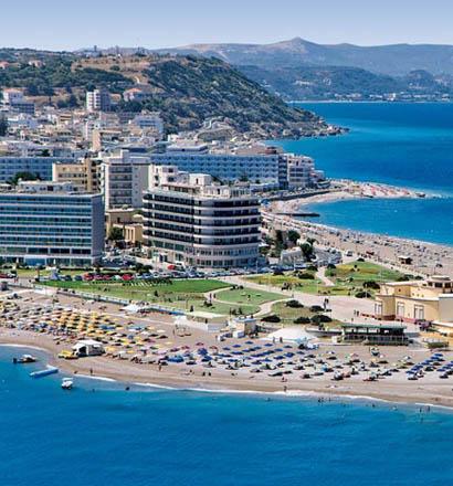 Почивка в Гърция, о-в Родос хотел Aquarium View Hotel 4*