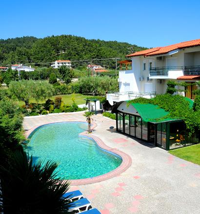 Почивка в Гърция,   Халкидики - Касандра хотел Aristidis Appartments 2*