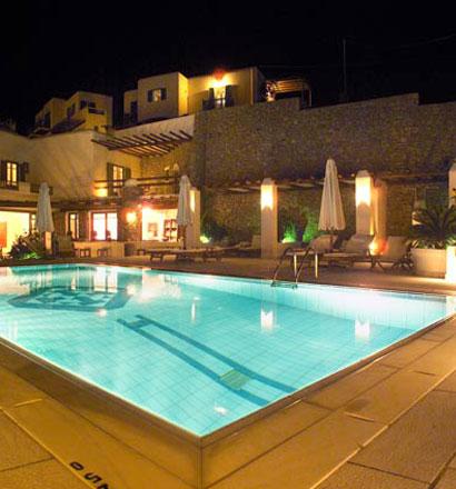 Почивка в Гърция, о-в Миконос хотел Pelican Bay Art Hotel 4*
