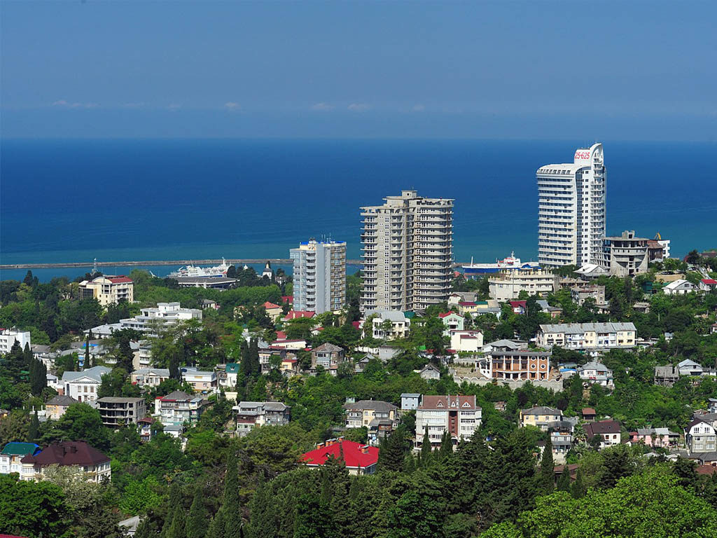 City Sightseeing tour of Sochi