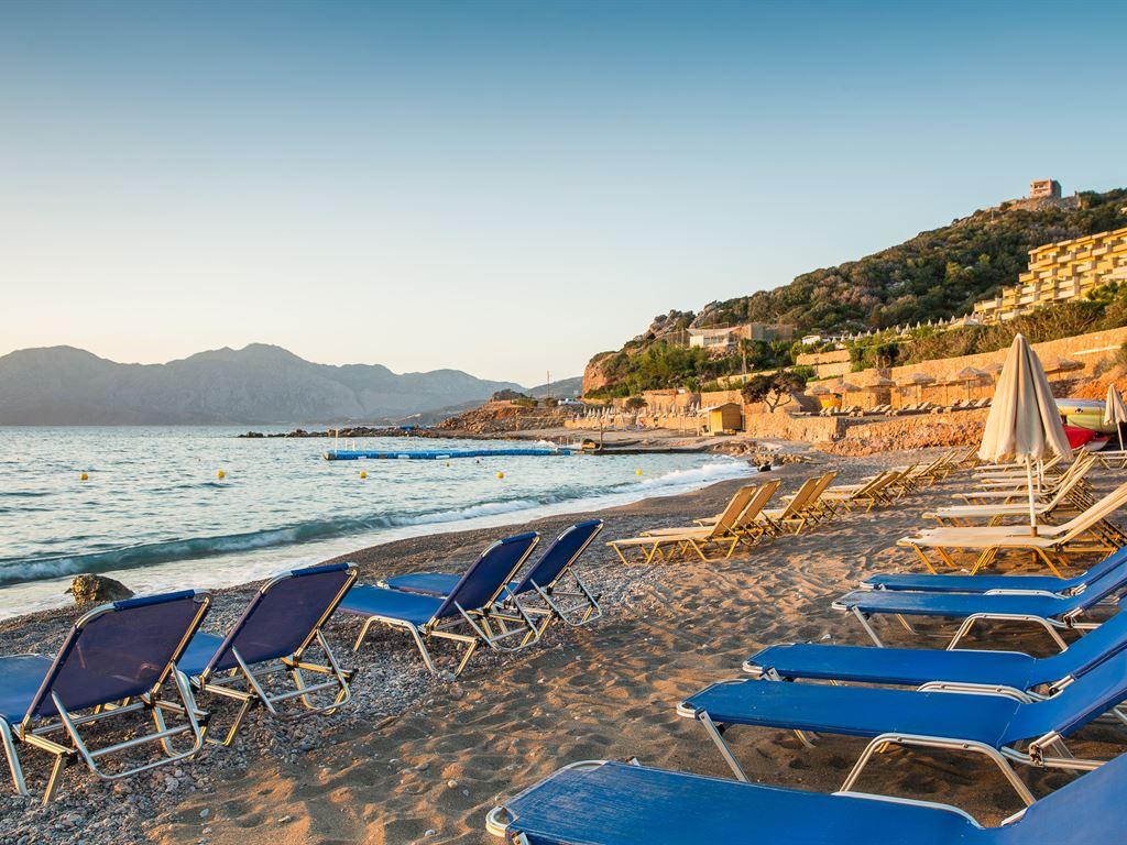 На побережье острова Крит...